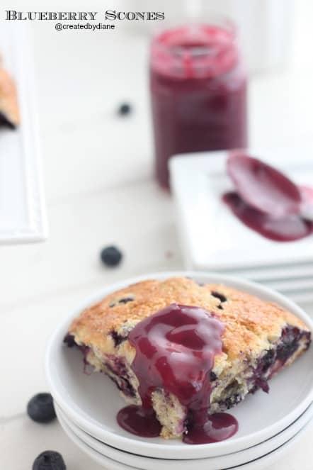 how to make homemade blueberry scones