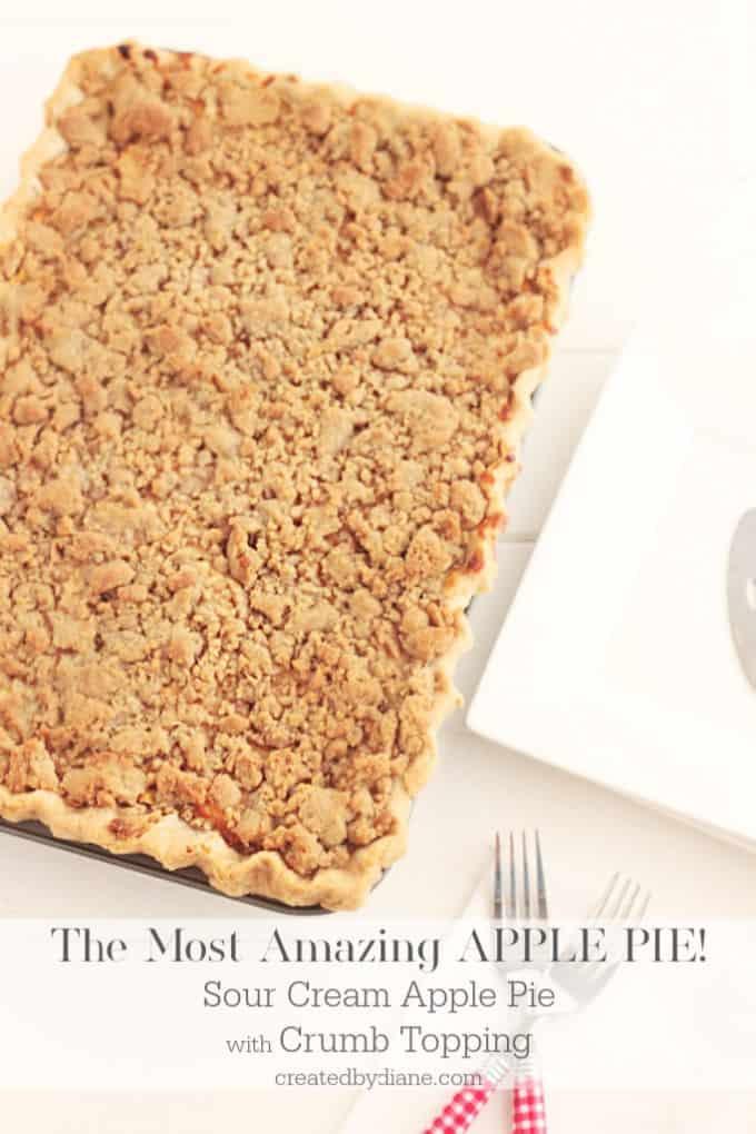 this tastes like a cheesecake apple pie