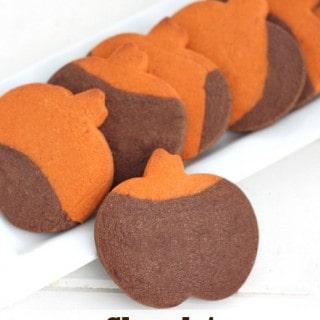 Chocolate Pumpkin Spice Cookies