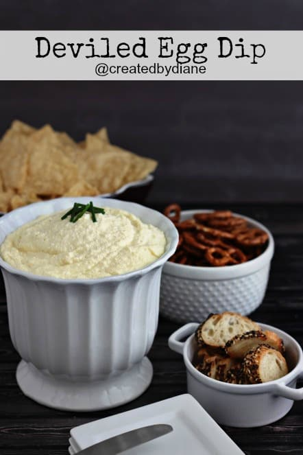 DELICIOUS deviled egg dip from @createdbydiane #appetizer