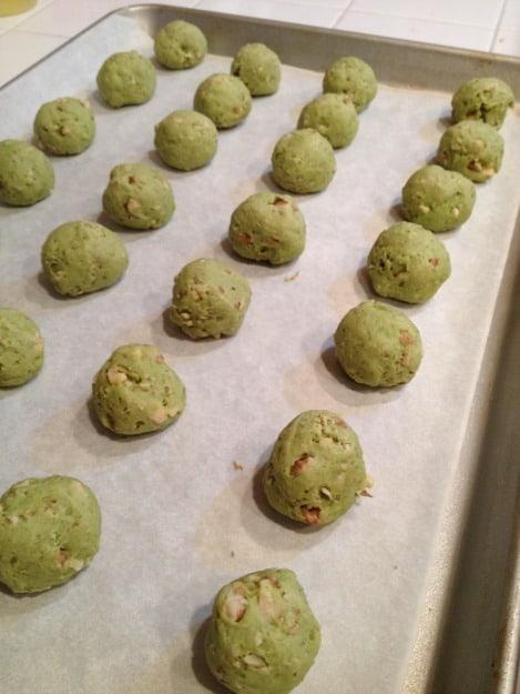avocado cookies @createdbydiane