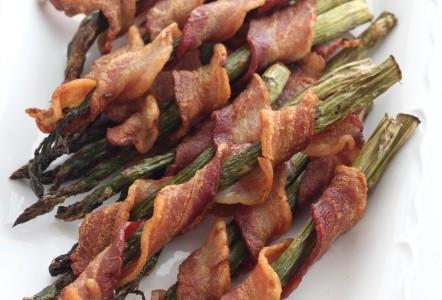Bacon Wrapped Asparagus @createdbydiane