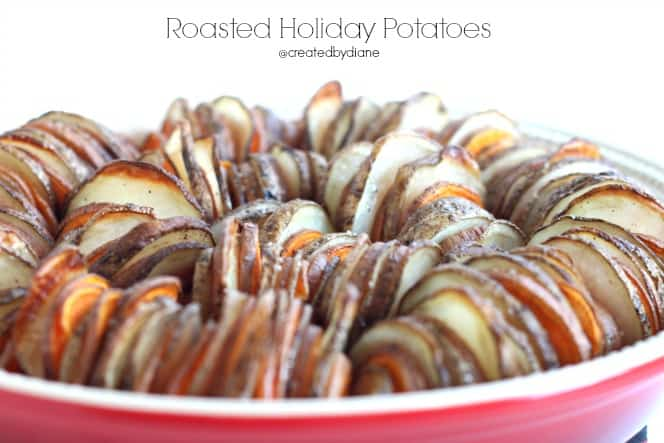 Delicious Roasted Holiday Potatoes