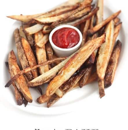How to bake crispy French Fries @createdbydiane