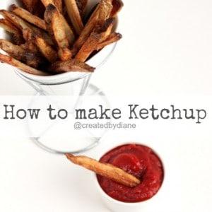 How to make Ketchup @createdbydiane