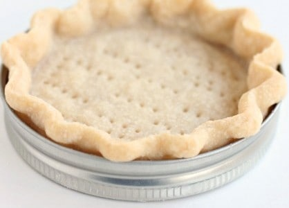 Mason Jar Lid Mini Pies @createdbydiane