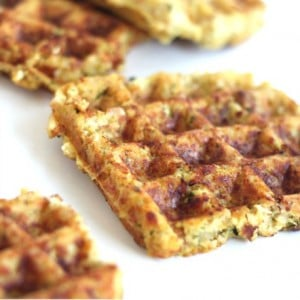 Turkey and Stuffing Waffles @createdbydiane perfect meal on the go!