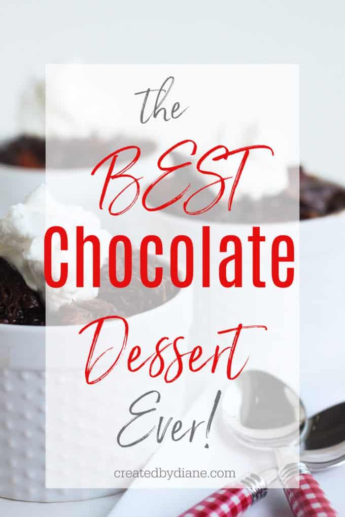 best chocolate dessert ever