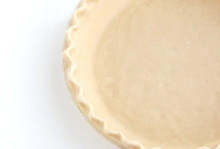 Easy Pie Crust made in a food processor @createdbydiane