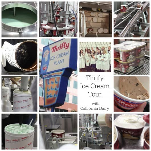 thrifty tour with California Dairy @createdbydiane