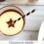 Cinnamon Apple Hard Cider Cocktail @createdbydiane