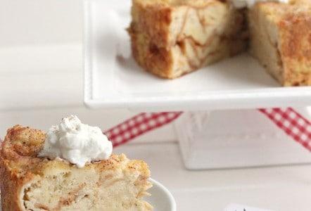 Eggnog Bread Pudding @createdbydiane
