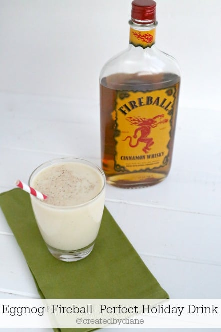 Fireball Eggnog from @createdbydiane