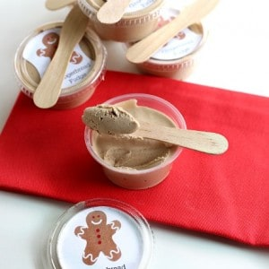 delicious gingerbread fudge recipe and printable from @createbydiane