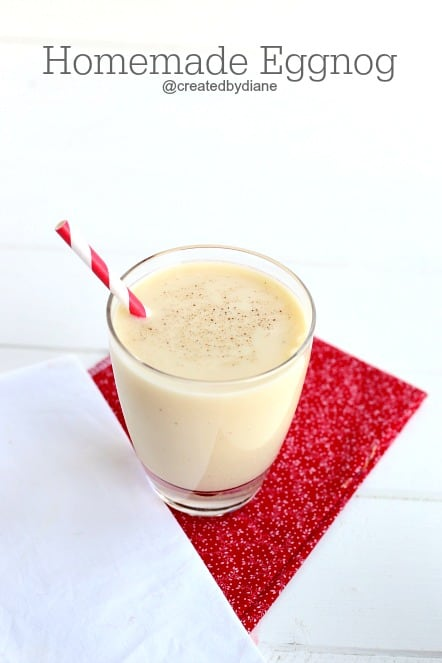 homemade eggnog recipe @createdbydiane