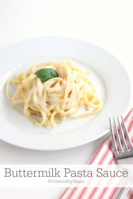 Buttermilk Pasta Sauce @createdbydiane