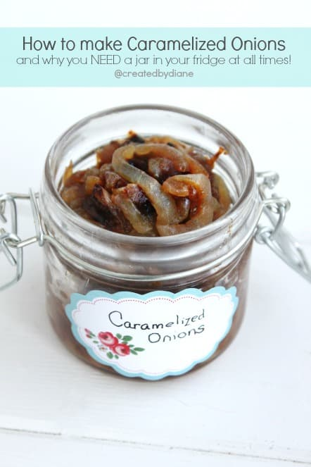How to make caramelized onions | Created by Diane