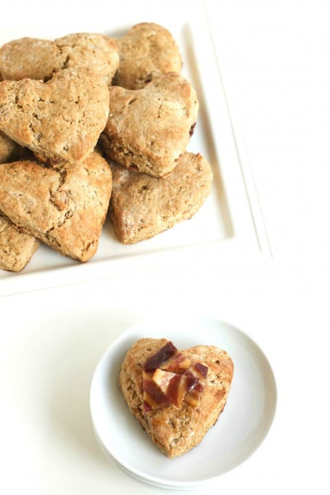 Delicious Maple Bacon Scones @createdbydiane