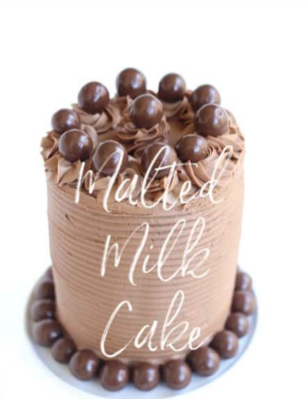 Malted Milk Cake createdbydiane.com