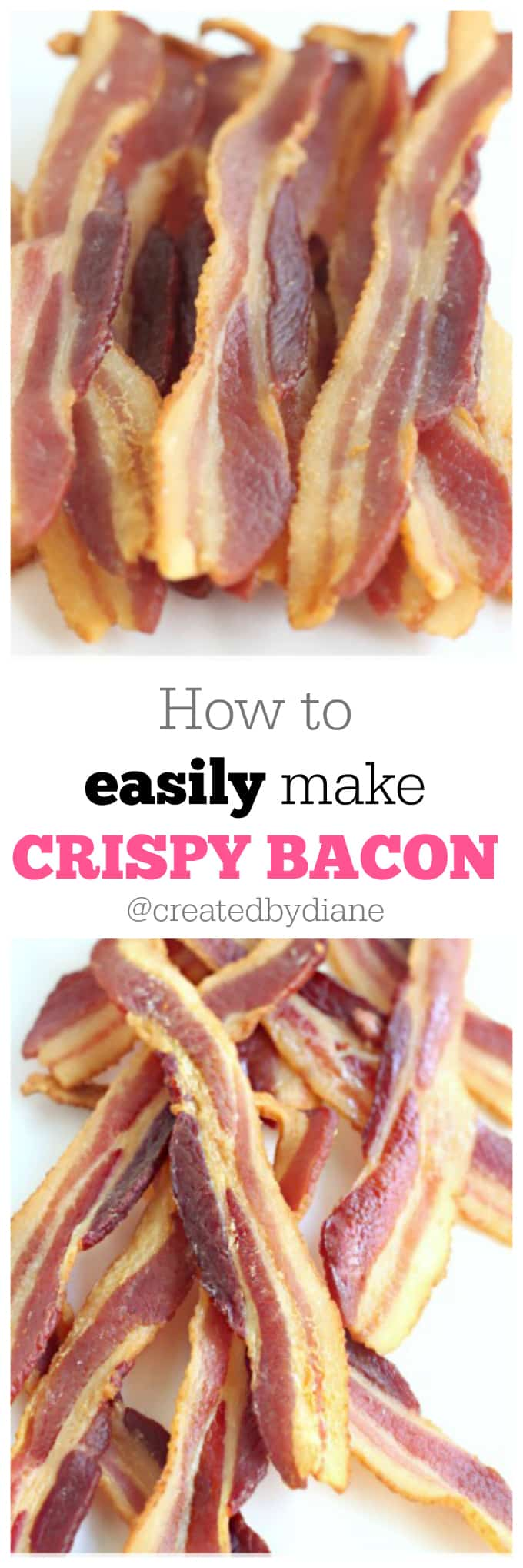 how to easily make crispy bacon