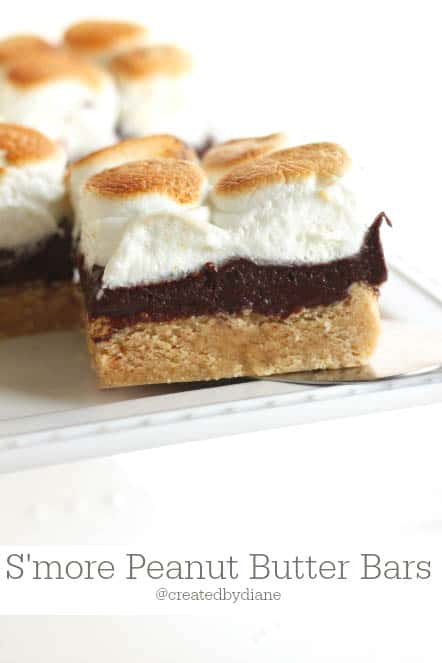 smore peanut butter bars from @createdbydiane-2
