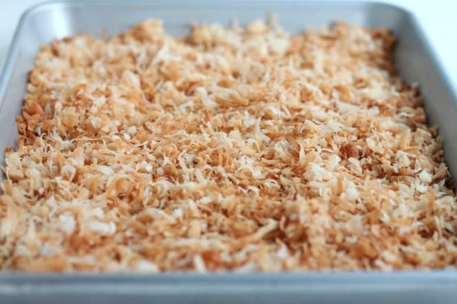 toasted coconut @createdbdiane