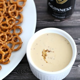 Guinness and Mustard Cheese Dip from @createdbydiane
