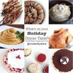 Holiday Dinner Recipes