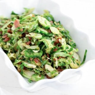 Brown Sugar and Bacon Brussels Sprouts