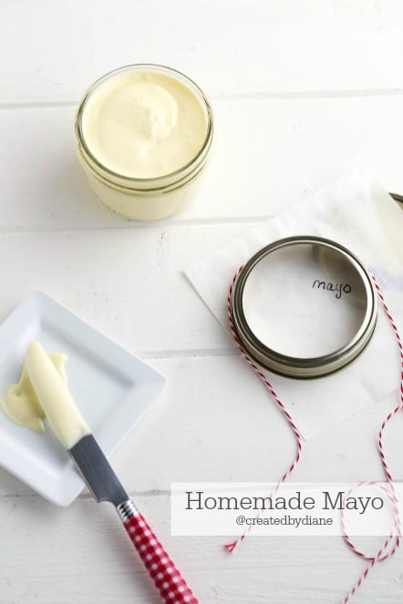 homemade mayonaise recipe createdbydiane.com