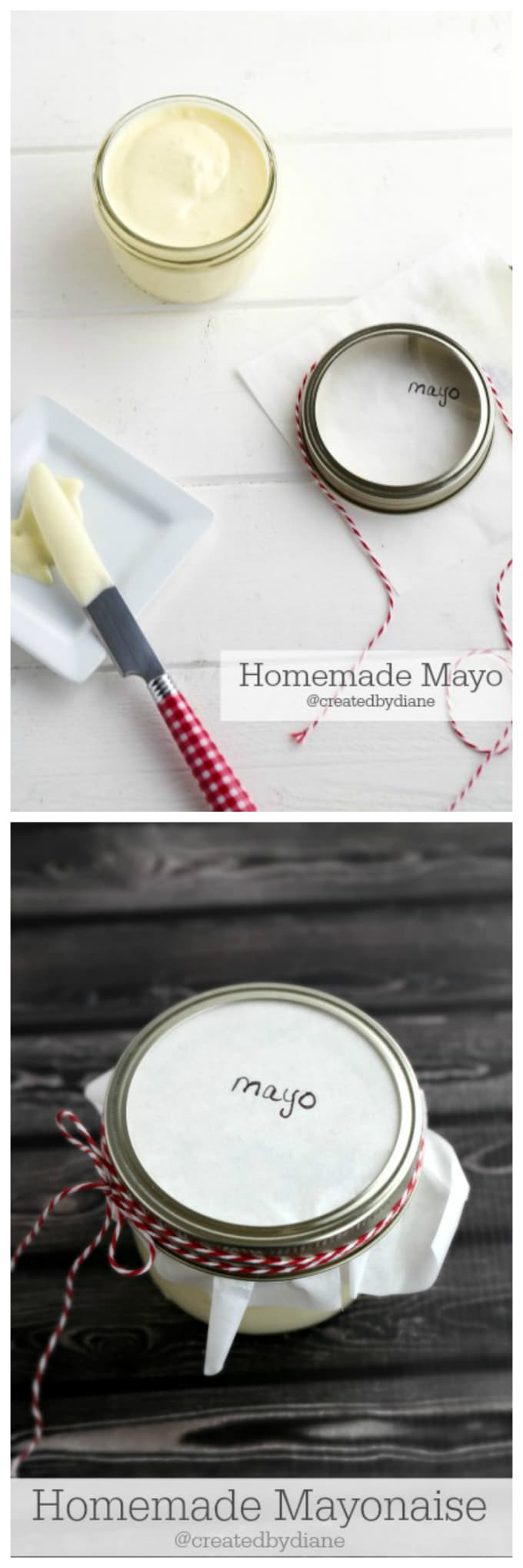 homemade mayo, mayonnaise recipe @createdbydiane
