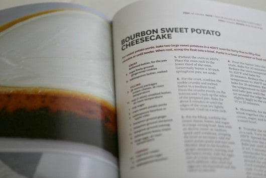 Bourbon Sweet Potato Cheesecake from The Dairy Good Cookbook