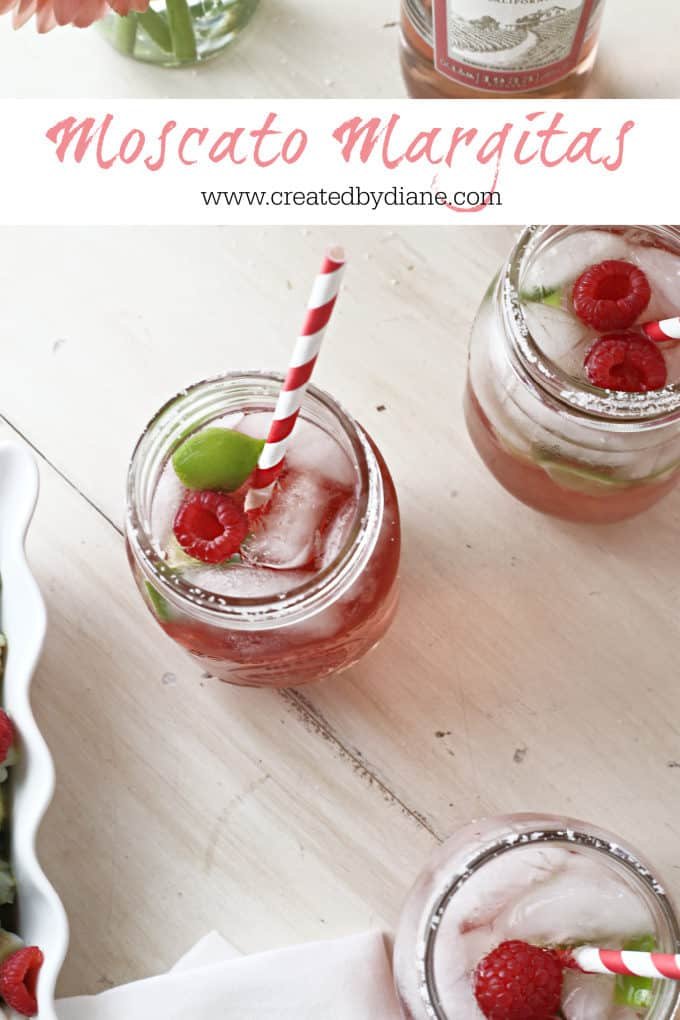 Moscato Wine Margaritas www.createdbydiane.com