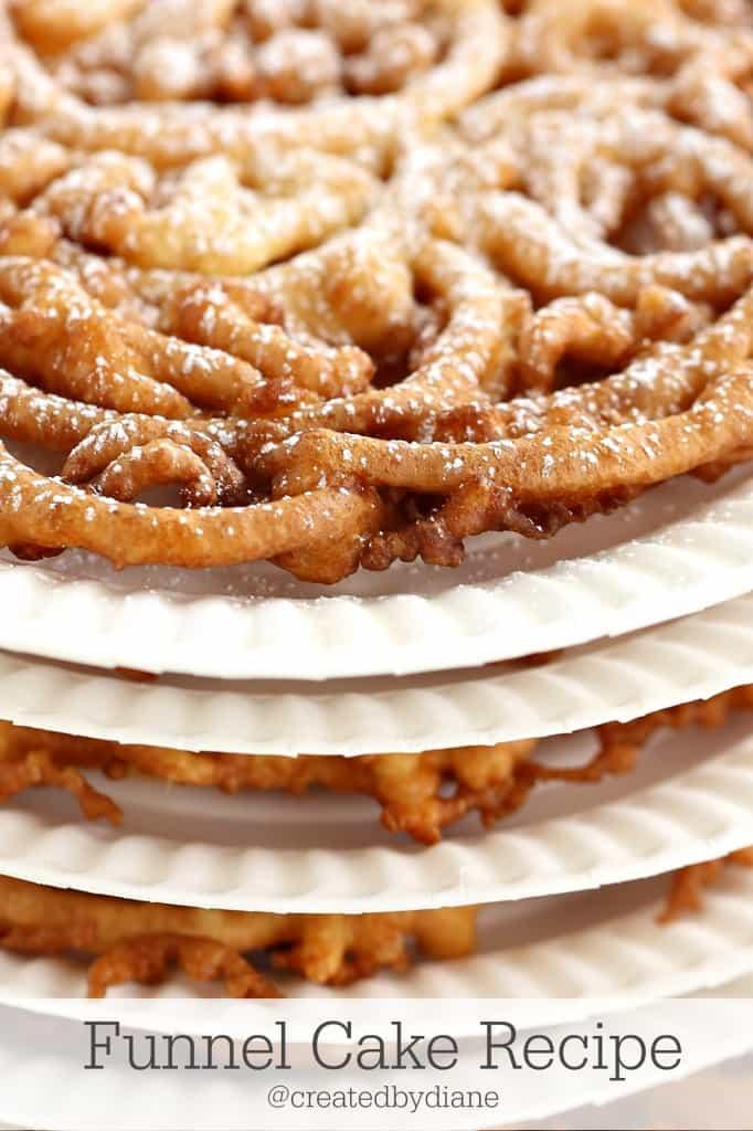 Funnel Cake Recipe from @createdbydiane
