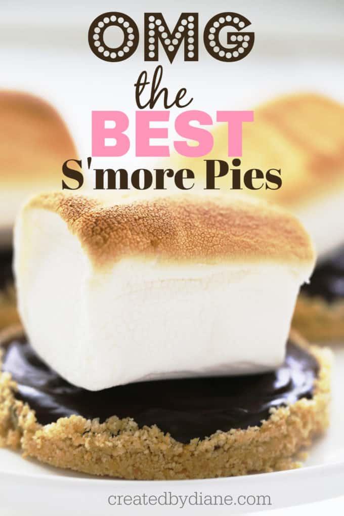 OMG the best s'more pie createdbydiane