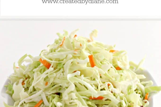 5 recipes using a cole slaw pack www.createdbydiane.com