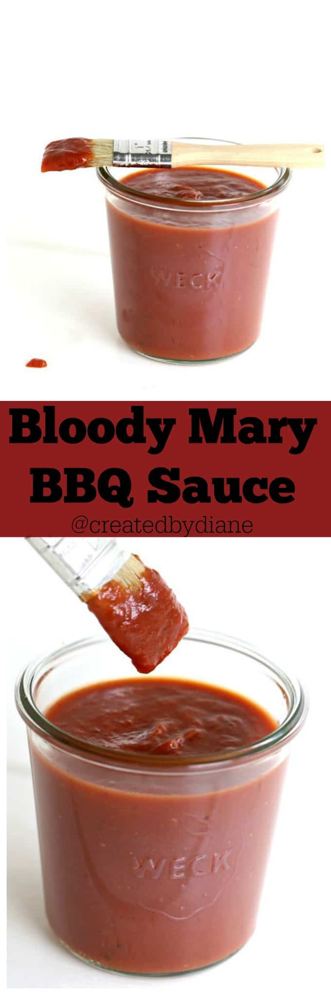 Bloody Mary BBQ Sauce @createdbydiane