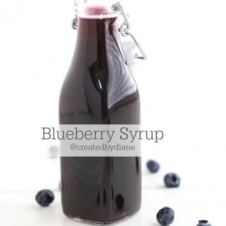 Blueberry Syrup @createdbydiane
