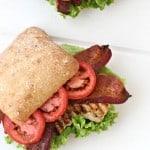 Chicken BLT Sandwich from @createdbydiane