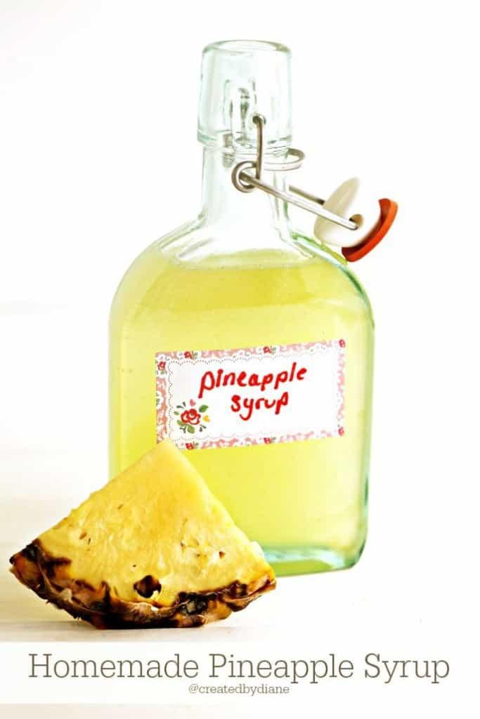 How to make Pineapple Syrup @createdbydiane