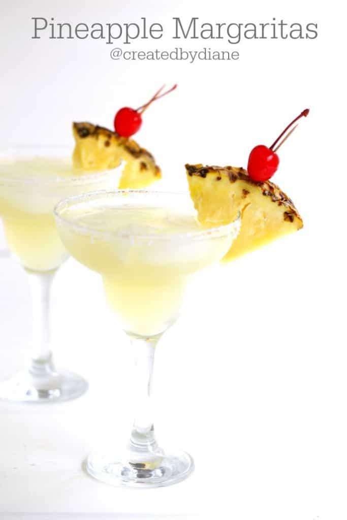 Pineapple Margarita Recipe @createdydiane