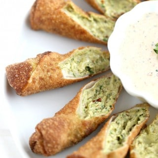 Avocado and Chipotle Egg Rolls