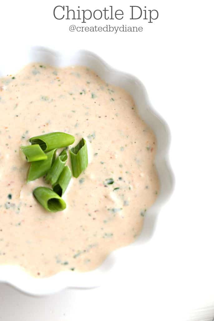 Chipotle Dip @createdbydiane