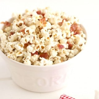 Maple Bacon Popcorn @createdbydiane