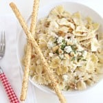 Pasta with Blue Cheese and Walnuts @createdbydiane