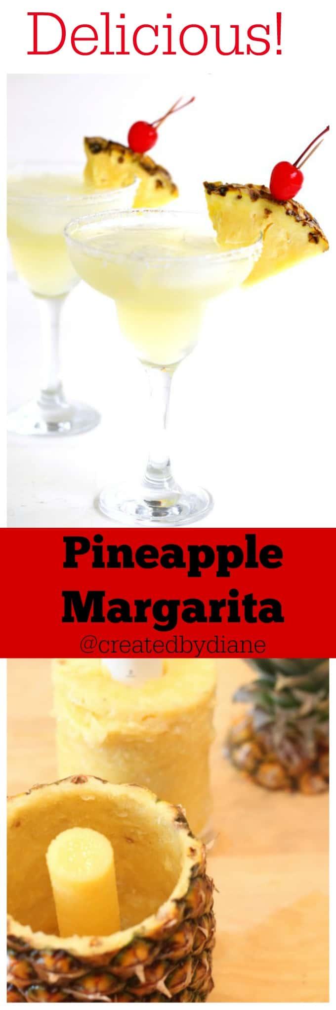 Pineapple Margarita @createdbydiane