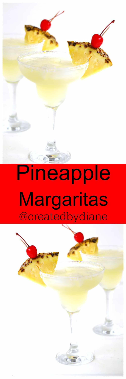 Pineapple Margaritas @createdbydiane