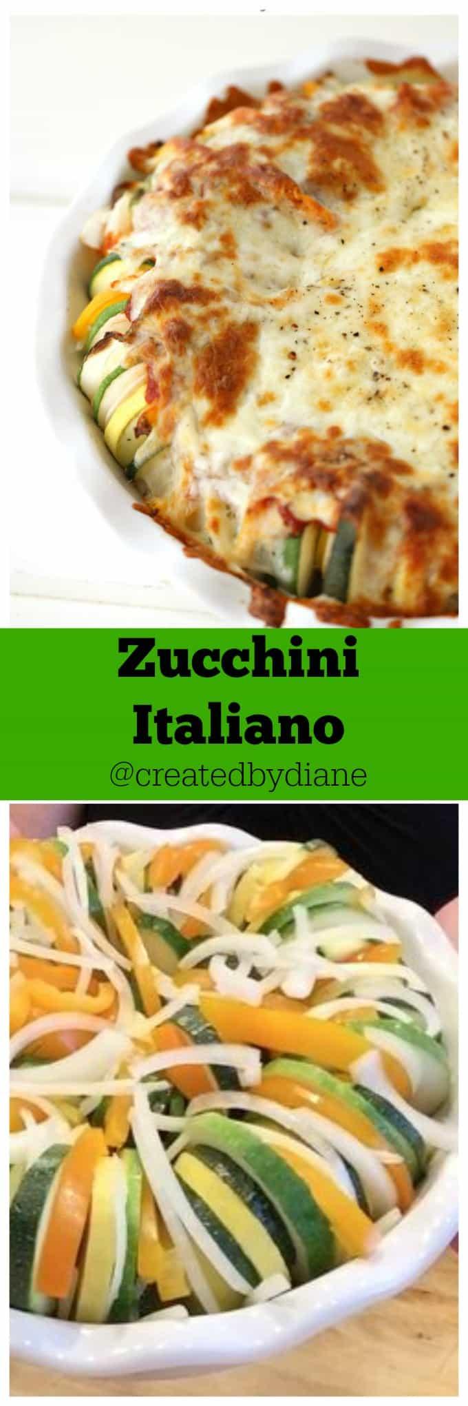 Zucchini Italiano @createdbydiane