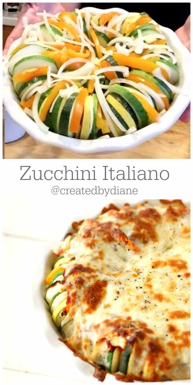 Zucchini Italiano Recipe @createdbydiane