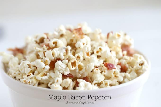 maple bacon popcorn so delicious @createdbydiane